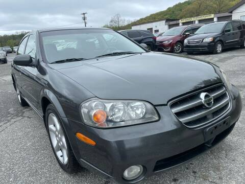 2003 Nissan Maxima for sale at Ron Motor Inc. in Wantage NJ