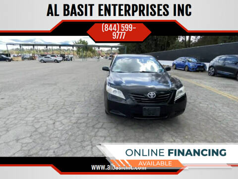 2009 Toyota Camry for sale at AL BASIT ENTERPRISES INC in Riverside CA