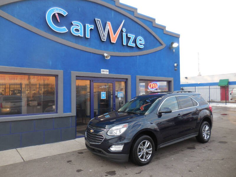 2016 Chevrolet Equinox for sale at Carwize in Detroit MI