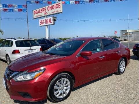 2016 Nissan Altima for sale at Dealers Choice Inc in Farmersville CA