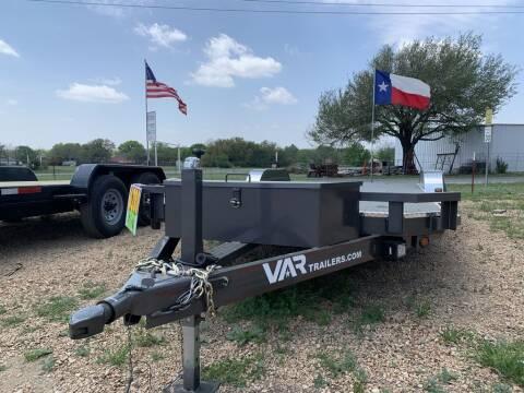 """2021 VAR 83"""" X 20' CAR HAULER for sale at LJD Sales in Lampasas TX"""
