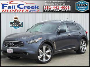 2009 Infiniti FX50 for sale at Fall Creek Motor Cars in Humble TX