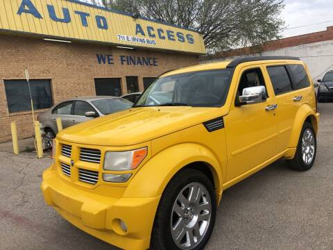 2010 Dodge Nitro for sale at Auto Access in Irving TX