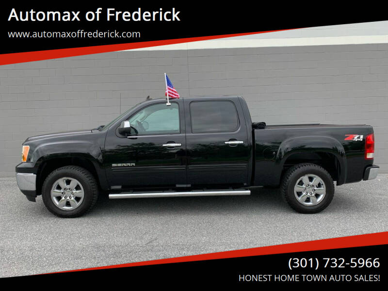 2013 GMC Sierra 1500 for sale at Automax of Frederick in Frederick MD