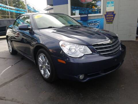 2008 Chrysler Sebring for sale at Fleetwing Auto Sales in Erie PA