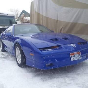 1986 Pontiac Firebird for sale at Classic Car Deals in Cadillac MI