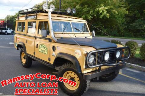 1972 Land Rover Series III / Defender 110 Conv for sale at Ramsey Corp. in West Milford NJ