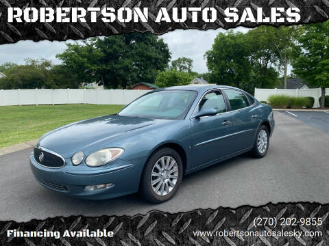 2007 Buick LaCrosse for sale at ROBERTSON AUTO SALES in Bowling Green KY