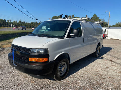 2018 Chevrolet Express Cargo for sale at Baileys Truck and Auto Sales in Florence SC