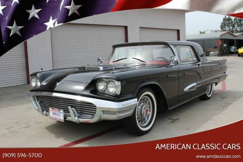 1959 Ford Thunderbird for sale at American Classic Cars in La Verne CA