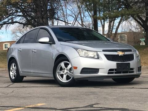 2012 Chevrolet Cruze for sale at Used Cars and Trucks For Less in Millcreek UT