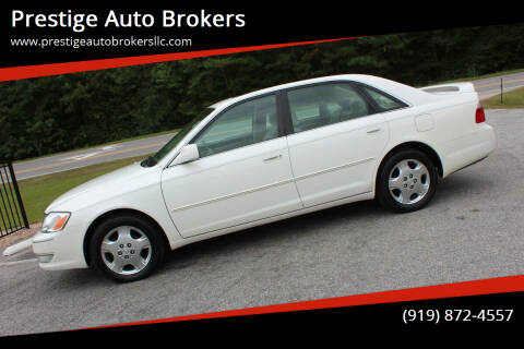 2004 Toyota Avalon for sale at Prestige Auto Brokers in Raleigh NC