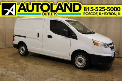 2015 Chevrolet City Express Cargo for sale at AutoLand Outlets Inc in Roscoe IL