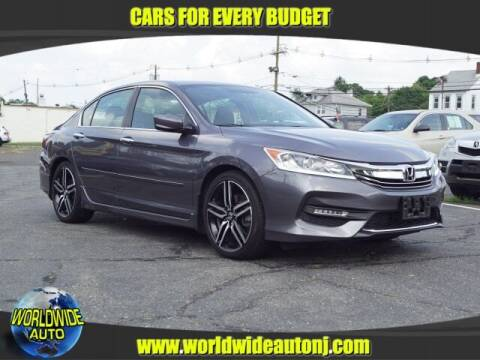 2017 Honda Accord for sale at Worldwide Auto in Hamilton NJ