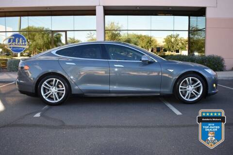 2013 Tesla Model S for sale at GOLDIES MOTORS in Phoenix AZ