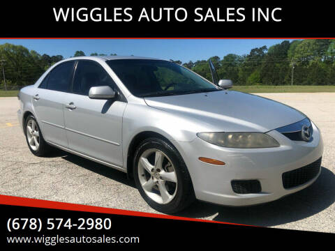 2006 Mazda MAZDA6 for sale at WIGGLES AUTO SALES INC in Mableton GA