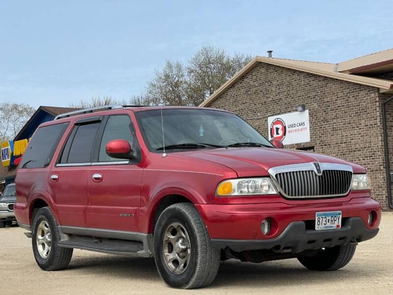 2001 Lincoln Navigator for sale at Big Man Motors in Farmington MN
