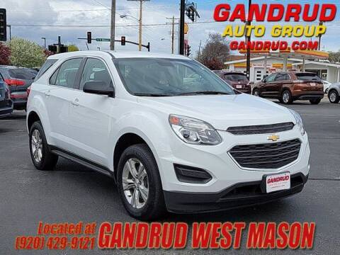 2017 Chevrolet Equinox for sale at GANDRUD CHEVROLET in Green Bay WI