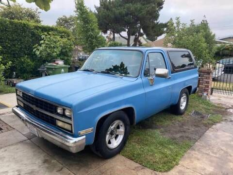1982 Chevrolet Blazer for sale at Classic Car Deals in Cadillac MI