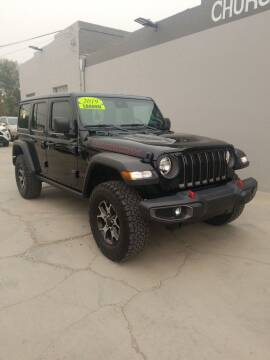 2019 Jeep Wrangler Unlimited for sale at CHURCHILL AUTO SALES in Fallon NV