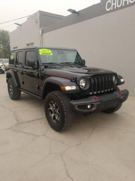 2019 Jeep Wrangler Unlimited for sale at CHURCHILL AUTO SALES in Fallon NV