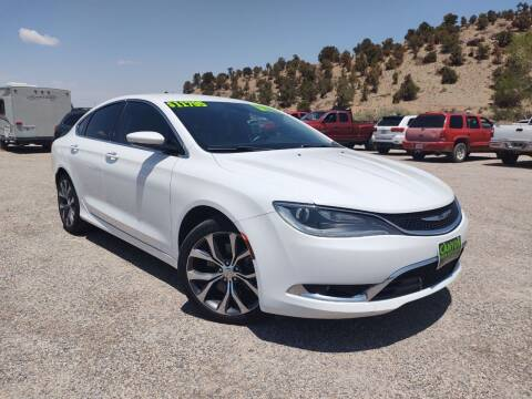 2015 Chrysler 200 for sale at Canyon View Auto Sales in Cedar City UT
