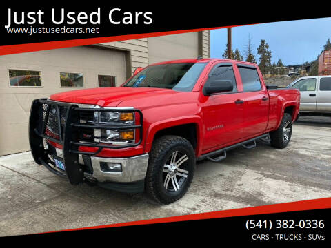 2014 Chevrolet Silverado 1500 for sale at Just Used Cars in Bend OR