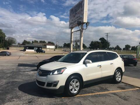 2013 Chevrolet Traverse for sale at Patriot Auto Sales in Lawton OK