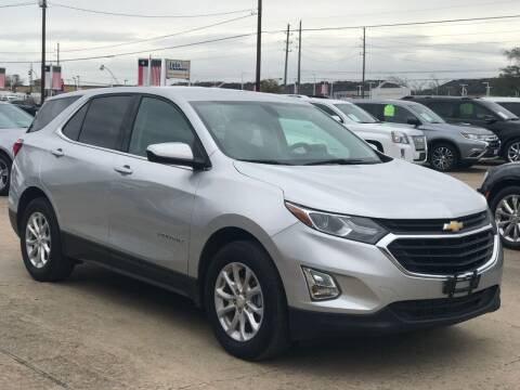 2018 Chevrolet Equinox for sale at Discount Auto Company in Houston TX