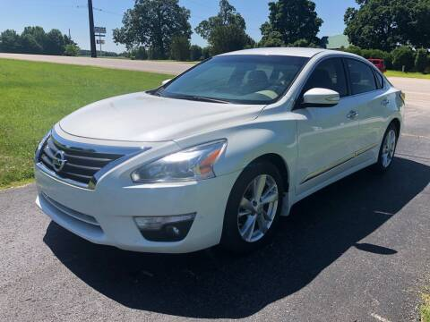 2015 Nissan Altima for sale at Champion Motorcars in Springdale AR