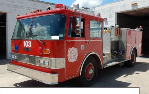 1981 Fire Truck Oshcosh Pierce Arrow for sale at Government Fleet Sales in Kansas City MO