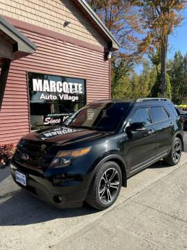 2014 Ford Explorer for sale at Marcotte & Sons Auto Village in North Ferrisburgh VT