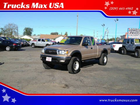 2002 Toyota Tacoma for sale at Trucks Max USA in Manteca CA