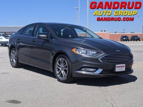 2017 Ford Fusion for sale at Gandrud Dodge in Green Bay WI