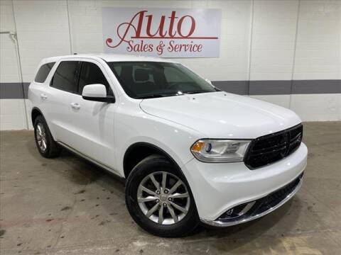 2017 Dodge Durango for sale at Auto Sales & Service Wholesale in Indianapolis IN