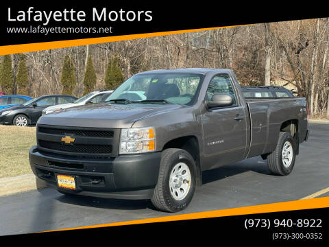 2012 Chevrolet Silverado 1500 for sale at Lafayette Motors 2 in Andover NJ