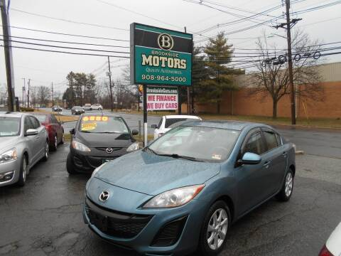 2011 Mazda MAZDA3 for sale at Brookside Motors in Union NJ
