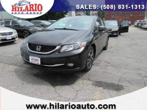 2013 Honda Civic for sale at Hilario's Auto Sales in Worcester MA