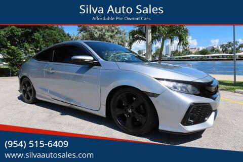 2017 Honda Civic for sale at Silva Auto Sales in Pompano Beach FL