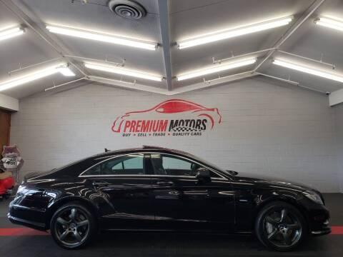 2012 Mercedes-Benz CLS for sale at Premium Motors in Villa Park IL