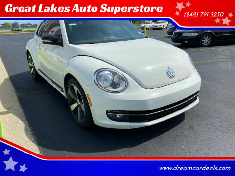 2013 Volkswagen Beetle for sale at Great Lakes Auto Superstore in Waterford Township MI