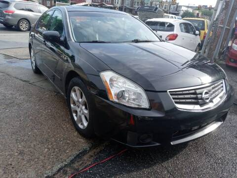 2007 Nissan Maxima for sale at AUTO DEALS UNLIMITED in Philadelphia PA
