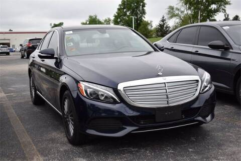 2015 Mercedes-Benz C-Class for sale at BOB ROHRMAN FORT WAYNE TOYOTA in Fort Wayne IN