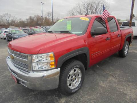 2012 Chevrolet Silverado 1500 for sale at Century Auto Sales LLC in Appleton WI