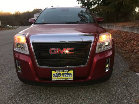 2013 GMC Terrain for sale at Worldwide Auto Sales in Fall River MA