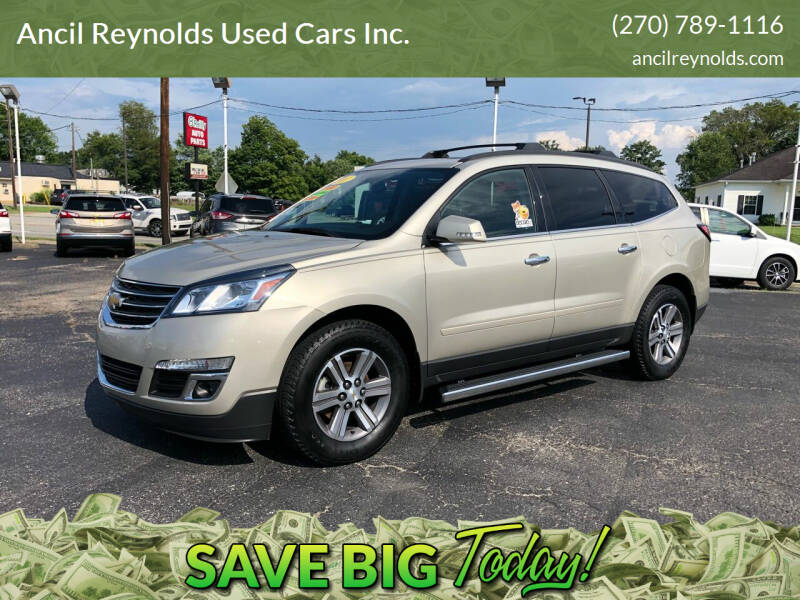 2017 Chevrolet Traverse for sale at Ancil Reynolds Used Cars Inc. in Campbellsville KY