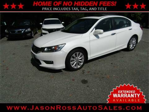 2014 Honda Accord for sale at Jason Ross Auto Sales in Burlington NC