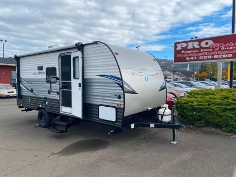 2021 PRIMETIME AVENGER 17BHS for sale at Pro Motors in Roseburg OR