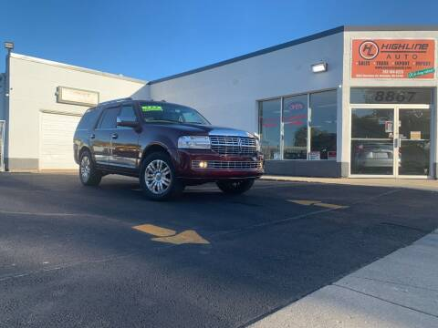 2011 Lincoln Navigator for sale at HIGHLINE AUTO LLC in Kenosha WI