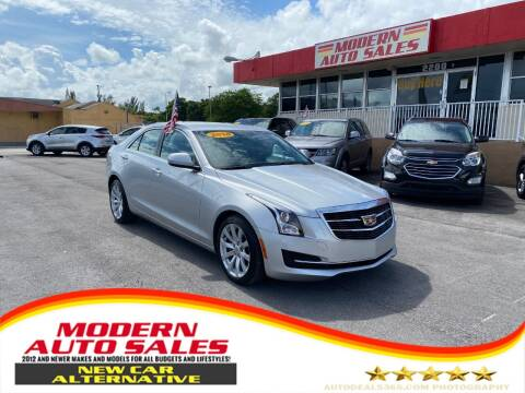 2018 Cadillac ATS for sale at Modern Auto Sales in Hollywood FL